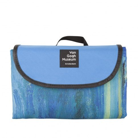 Picnic Blanket Seascape - Enjoy a picninc in the park with this foldable blanket inspired by Van Gogh's Seascape. Made from a polyester canvas fabric, so the topside stays dry and clean.Measurements: 130 x 98 cm.