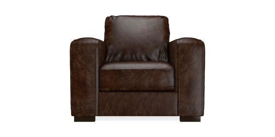 Armitage leather chair. Cuba dark brown from Next.
