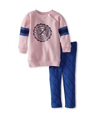 50% OFF Izod Girl's Fleece & Legging 2-Piece Set (Pink)