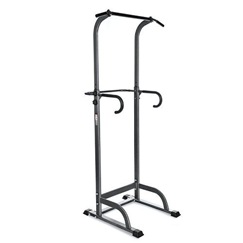 Ancheer Adjustable Power Tower for Home Gym – Barbell Academy