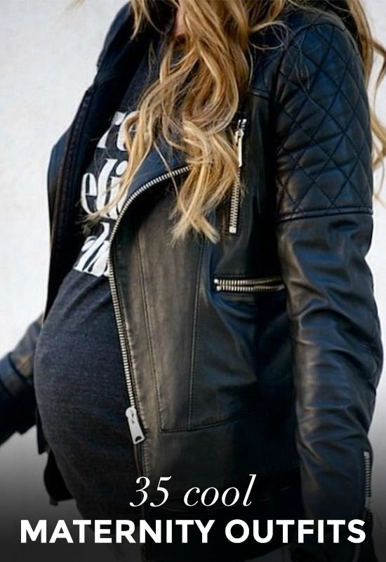 Pregnant Street Style: 35 Cool Outfits to Rock While Expecting. I love some of these!