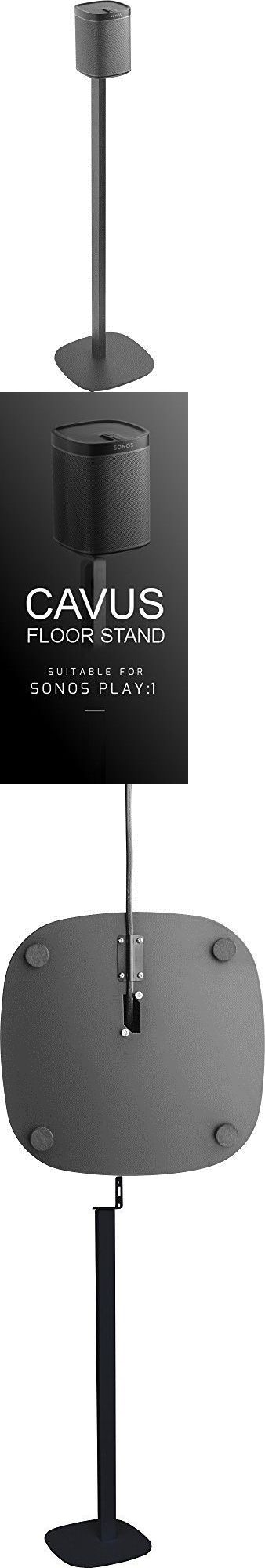 Speaker Mounts and Stands: Cavus Sns1b Floor Stand Suitable For Sonos Play 1 Black Electronics Features -> BUY IT NOW ONLY: $165 on eBay!