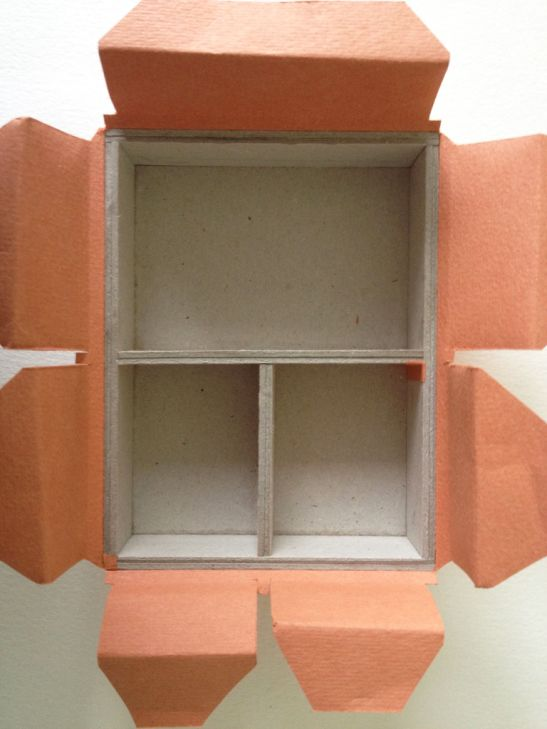 post by Sarah Bryant showing cuts for a variety of box forms