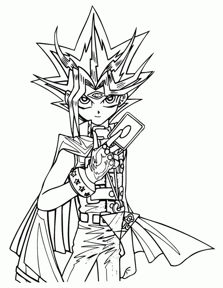 21 best Yu Gi Oh images on Pinterest Coloring pictures for kids