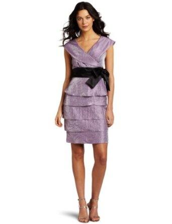 Marina Women's Portait Collar Shimmer Dress: Woman Portait, Marina Woman, Dresses 11900, Lavender Dresses, Portait Collars, Special Occa Dresses, Marina Women'S, Shimmer Dresses, Collars Shimmer