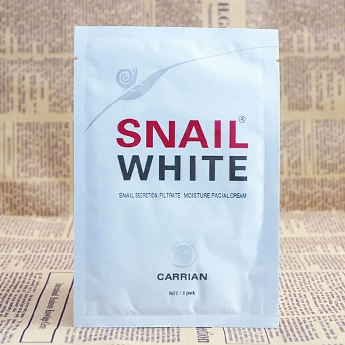 snail white concentrate silk sleep mask hydrating whitening mask