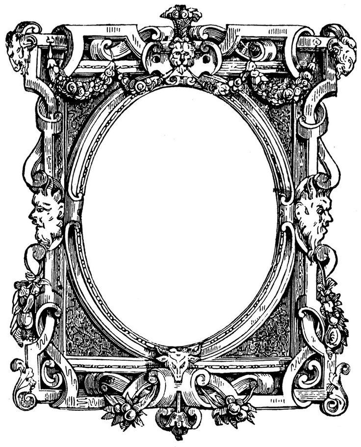 Изображением, рисунок рамки