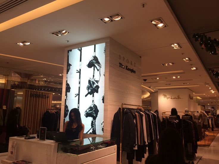 The Kooples's sub brand 'SPORT The Kooples'    at the Galeries Lafayette in paris