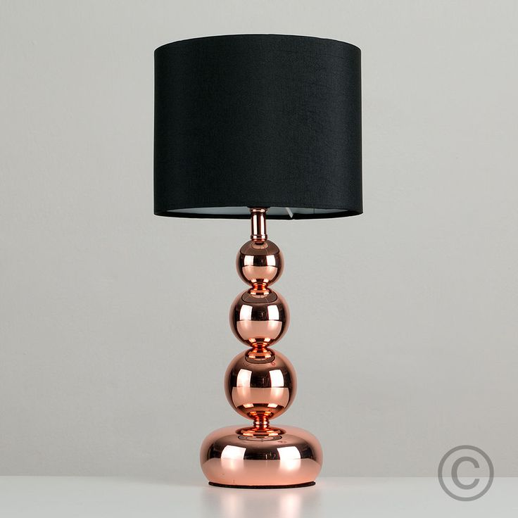 1000 ideas about bedside table lamps on pinterest bedside lamp bedroom lamps and how to decorate - Black touch lamps bedside ...