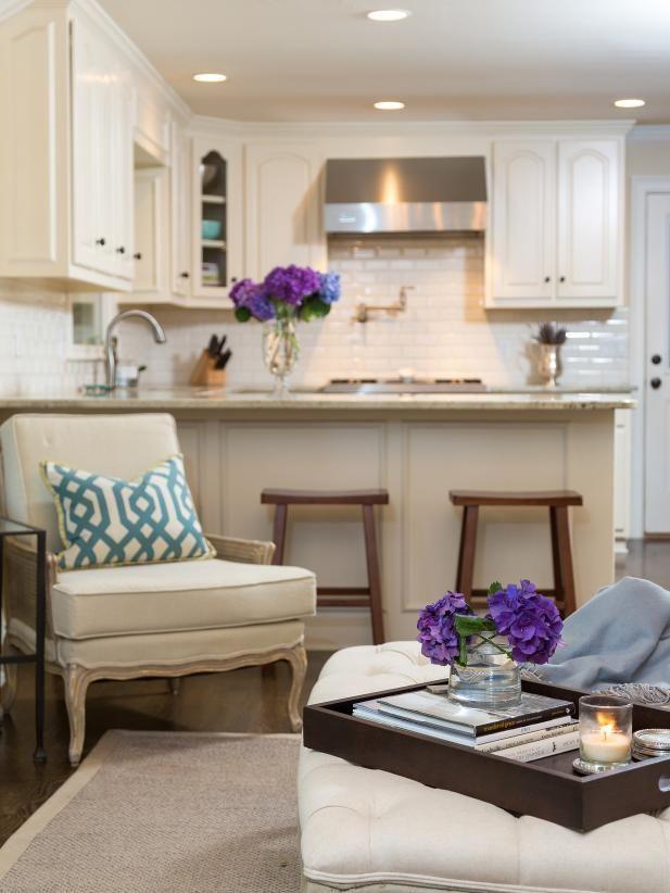 Timeless Traditional Kitchen Living Room 2017 Hgtv