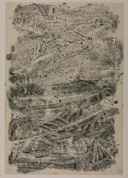 William Turnbull 'Sea Forms', 1949 - monotype
