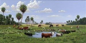 Annual BBQ Event Unveils Latest of Commissioned Fine Art Series: Florida Agriculture Heritage