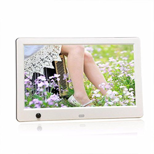 WANT!  Fenleo 10 inch 1024 x 600 HD Digital Photo Frame Electronic Photo Album with Motion Sensor MP3 Video Player