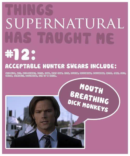high air max Things  Supernatural Has Taught Me