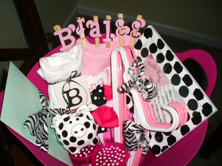 Baby Shower - Gift Basket (For Little Miss Bralee!)