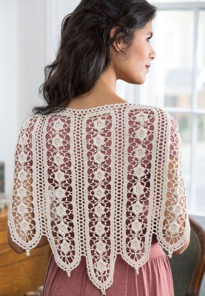 Keep warm on a cool summer wedding night with a lovely crochet shawl that'll certainly attract attention. Whether you're the bride or a guest, this subtle yet gorgeous design is the perfect special touch to your ensemble.