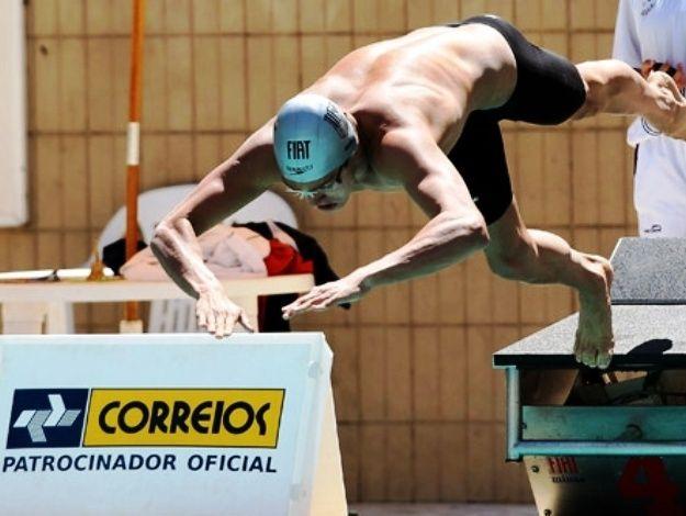 Brasileiros lutam por vaga na maratona aquática de Londres. Allan do Carmo e Lucas Kanieski vão lutar pela única destinada ao Brasil http://leiaja.me/bneRXH