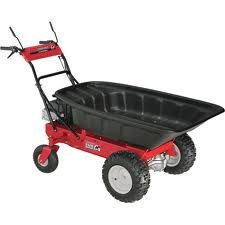 Wheelbarrow -- Troy-Bilt Motorized Wheelbarrow