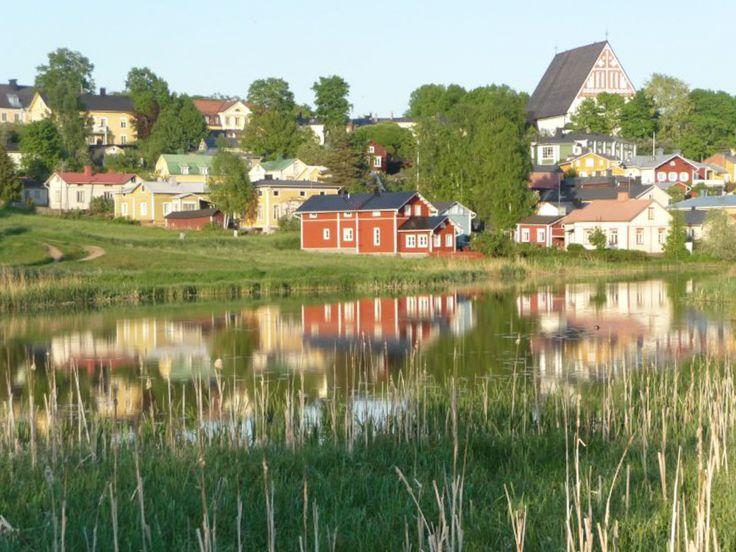 Porvoo, Finland - summertime