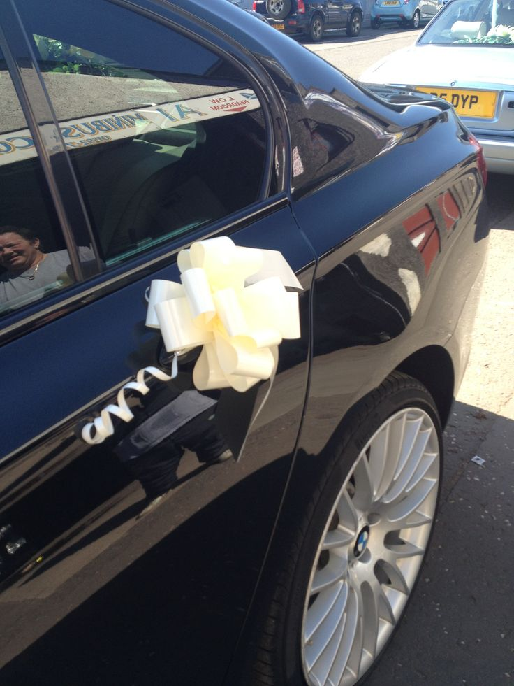 Captivating Modern Classy BMW Wedding Car For Hire   01592 713443