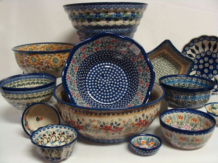 Polish Pottery | Out Of The Blue Pottery - Polish Pottery In Monticello, Illinois