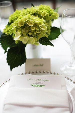 brides of adelaide magazine - chartreuse wedding - table setting