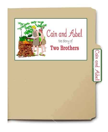 Cain and Abel file folder game from Heart of Wisdom @Brooke Wood ?