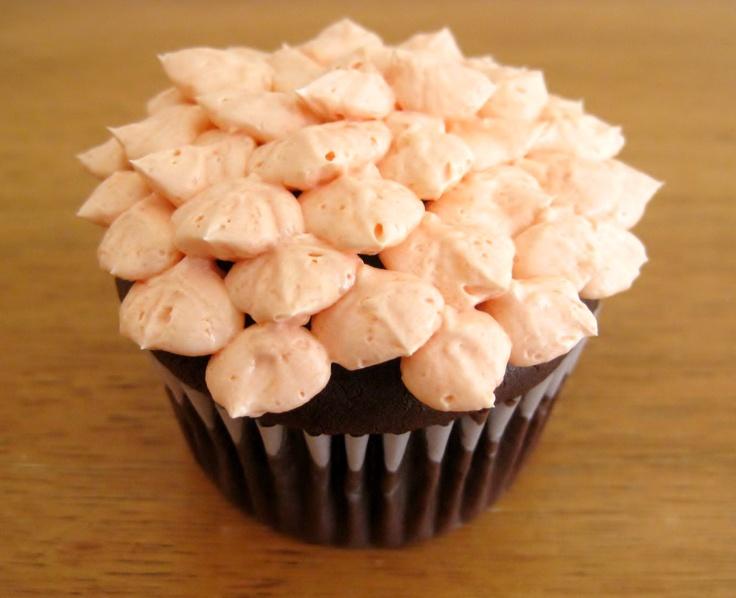 Orange You Glad Petal Cupcake