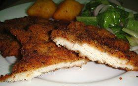 Maryam's Culinary Wonders: 168. Chicken Escalope Milanese