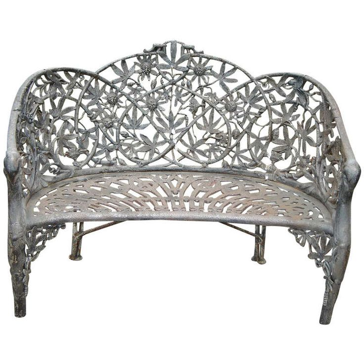 22 best images about antique garden furniture on pinterest for Cast iron garden furniture
