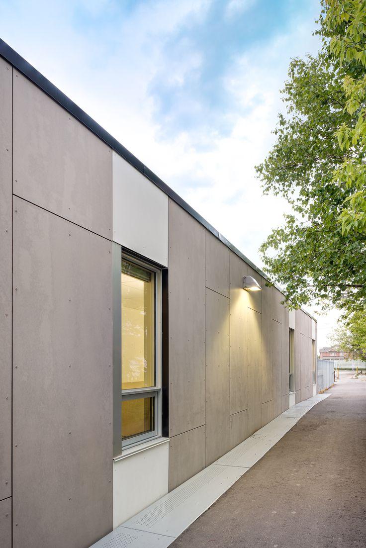 Project: Warden Ave. Public School | Location: Scarborough, ON | Product: EQUITONE Tectiva | Architect: Kohn Shnier #brilliantbuildings