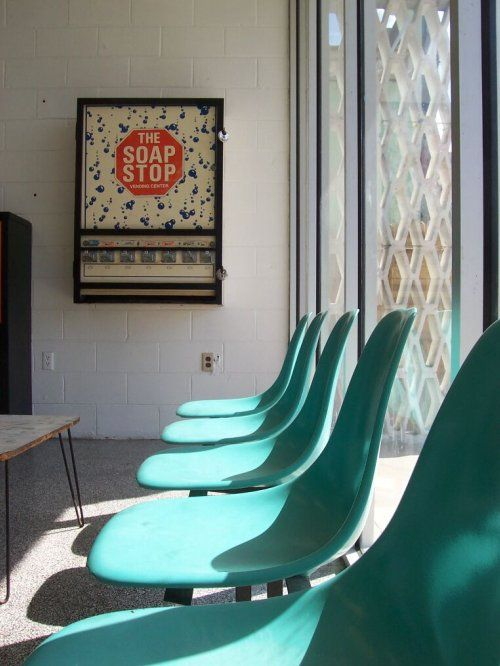 laundromat seating