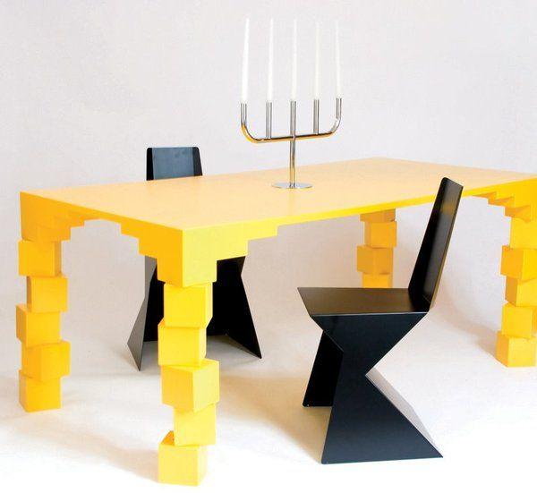 Unstable Table By Rafael Morgan Desk Workspace Desk