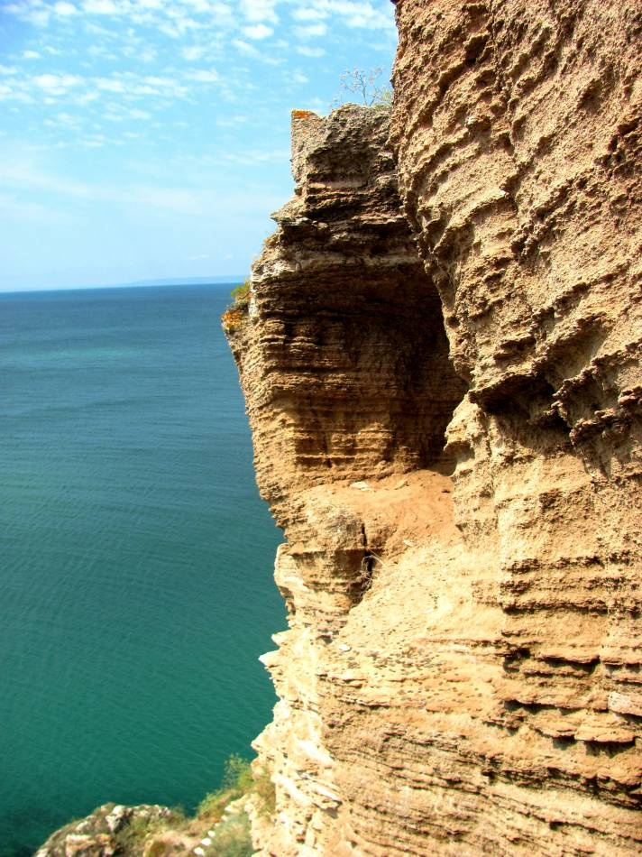 The rocks of Kaliakra cape, Bulgaria