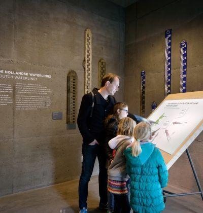 In Waterliniemuseum Fort bij Vechten ontdek je van alles over de verdediging van Nederland door de inzet van water.