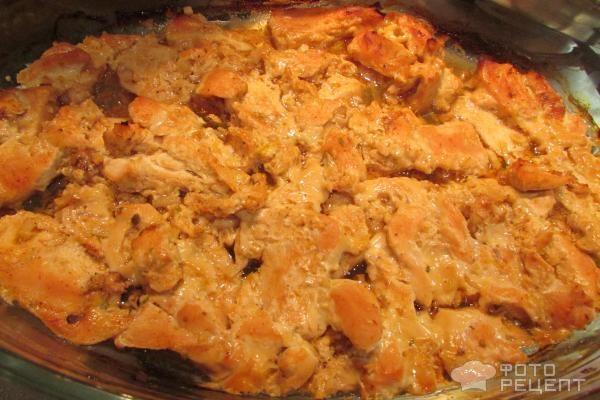 Куриные грудки в пикантном маринаде (КБЖУ)