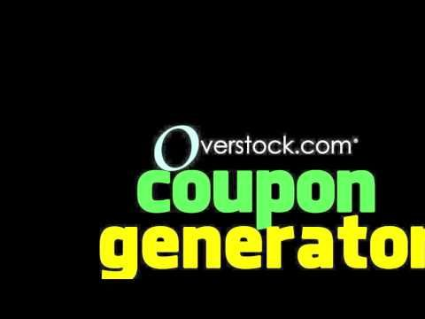 Get Unlimited Working Overstock Coupon Code Here. Overstock Coupon Generator $595