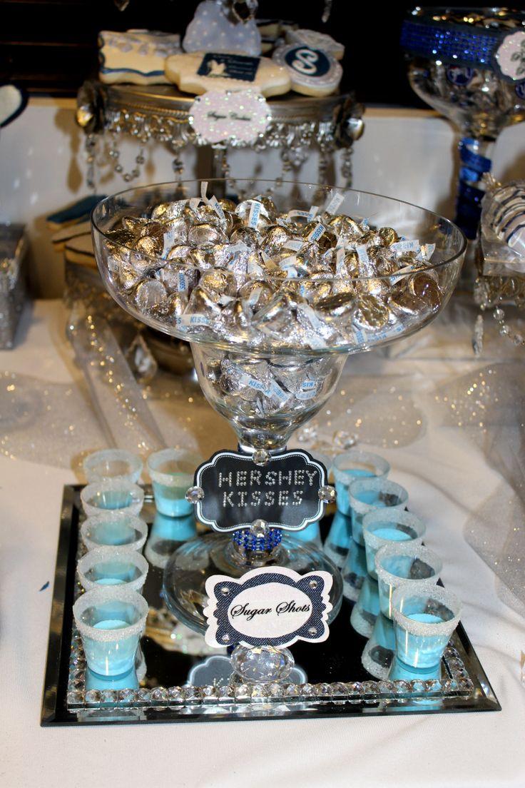 95 Best Denim Amp Diamonds Candy Table Images On Pinterest