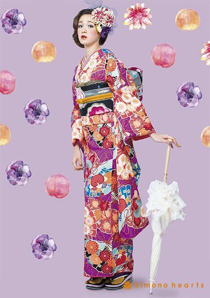kimono hearts