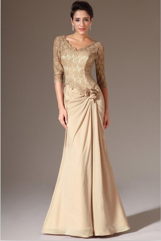 Mother of Bride Dresses with Ruching