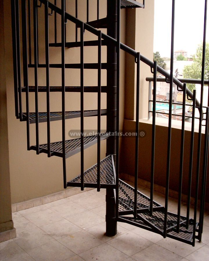 Staircase Spiral Stairs  Mountain Laurel Handrails http://awoodrailing.com