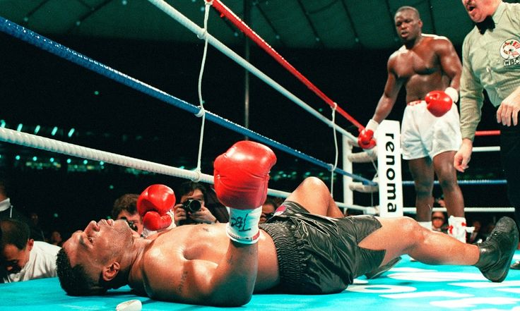 Mike Tyson entered the ring at 9am on 11 February 1990 as the undefeated heavyweight champion of the world. After 10 rounds with Buster Douglas he was lying on the canvas wondering if God had punished him for his magnificence