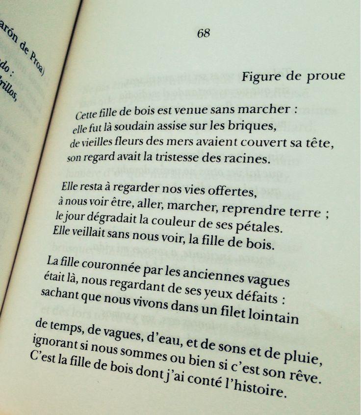 "- Pablo Neruda, ""Figure de proue"" (La centaine d'amour) <3"