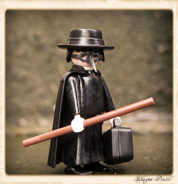 Playmobil - Plague Doctor | Photo by RDL