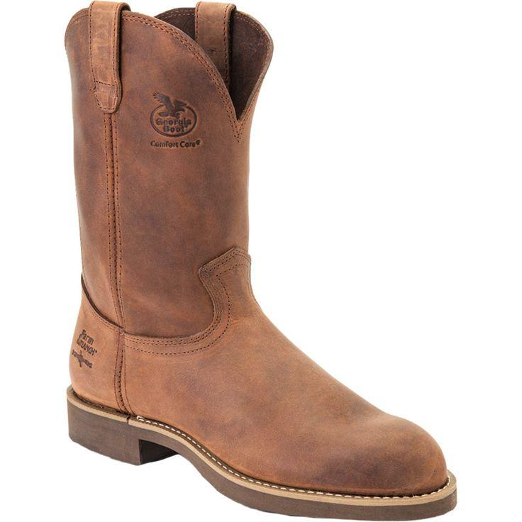 "Georgia Boot: Men's 11"" Carbo-Tec Wellington Work Boot - Style #G5814"