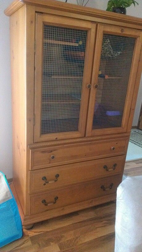 Chinchilla cage - armoire