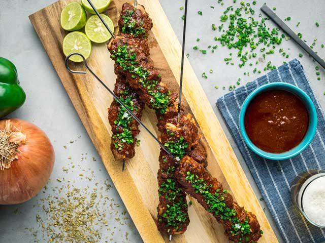 Recipe: Grilled Pork Anticuchos