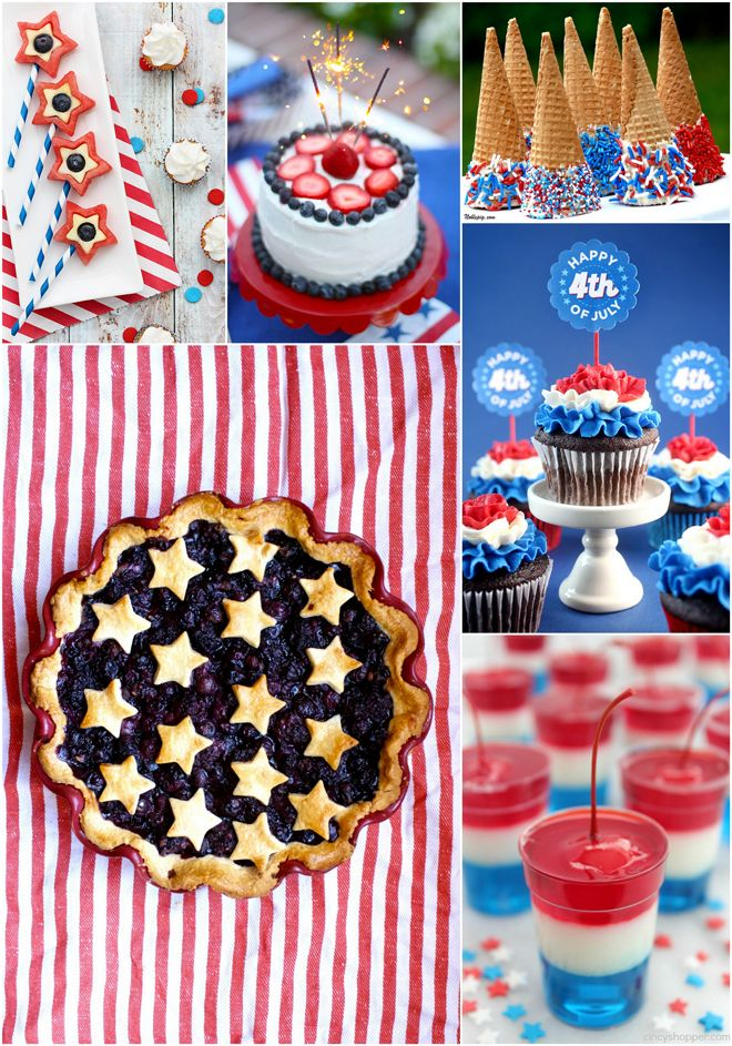 4th of july desserts truffle