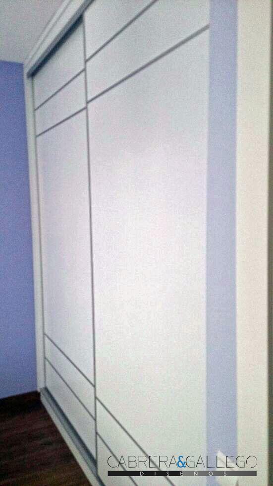 Armario puertas corredera melamina blanca armarios - Armario corredera ...