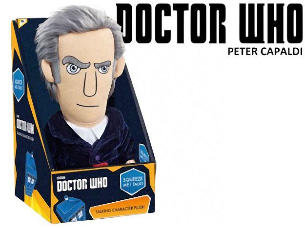 Doctor Who: Boneco de Pelúcia do 12º Doctor (Peter Capaldi)